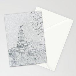 San Antonio Texas LDS Temple Stationery Cards