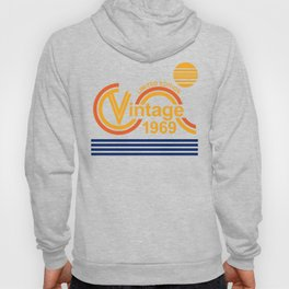Vintage 1969 50th Birthday gift for women and men Hoody