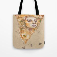 PIZZA LADY Tote Bag