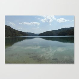 Croatian Beauty Canvas Print