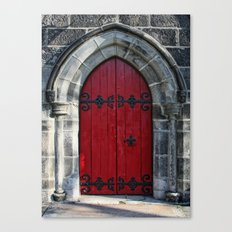 Red the Less Canvas Print