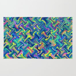 Multi-color Abstract Rug