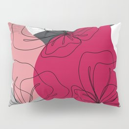 Abstract Cherry Blossom Pillow Sham