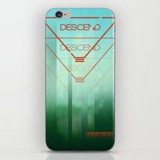 Descend iPhone & iPod Skin