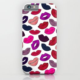 Pucker and pout iPhone Case