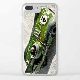 Toy Racing Car Clear iPhone Case