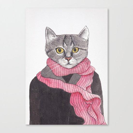 I'm No Cat Canvas Print