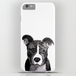 Pit Bull Dogs Lovers iPhone Case
