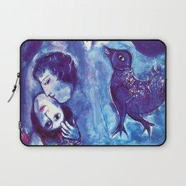 Marc Chagall, Le Paisage Bleu 1949 Artwork, Posters Tshirts Prints Bags Men Women Kids Laptop Sleeve