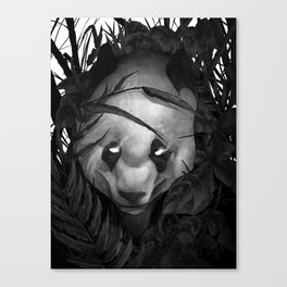 P is for the Panda Canvas Print