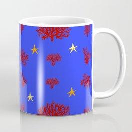 marine pattern Coffee Mug