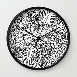 STRANDED IN YOUR GARDEN, I CAN'T FIND THE GATE Wall Clock