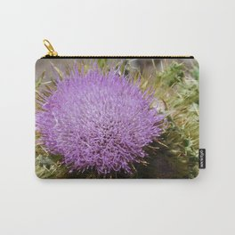road trip, plant, nature, purple, plant top, pokey, sticker plant Carry-All Pouch