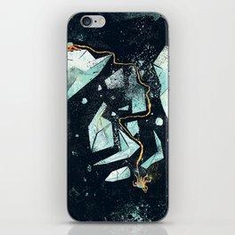 Climbing the Crevasse iPhone Skin