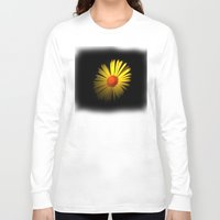 sunshine Long Sleeve T-shirts featuring Sunshine by Trevor Jolley