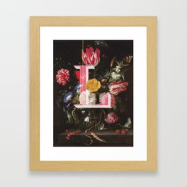 Letter L Framed Art Print