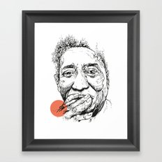 Muddy Waters - Get your mojo! Framed Art Print