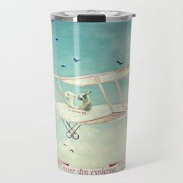 ALPACAS EXPLORING III - THE SKY Travel Mug
