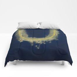 fragile surface, big blue Vence Comforters