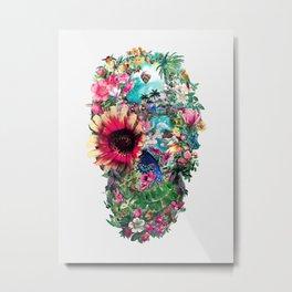 Summer Skull II Metal Print