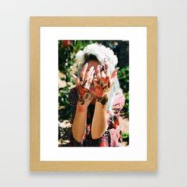 Kara's Hands Framed Art Print