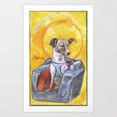 Laika: Space Dog Art Print
