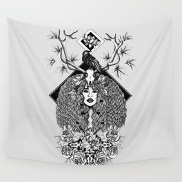 Discover Your Inner Sprit Wall Tapestry