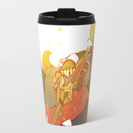 I Challenge My Fate Travel Mug