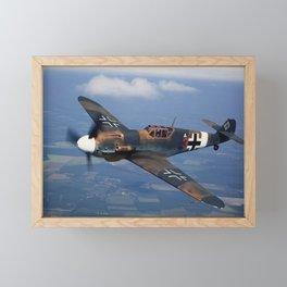 Bf-109 Photo #2 Framed Mini Art Print