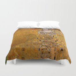 The Woman In Gold Bloch-Bauer I by Gustav Klimt Duvet Cover