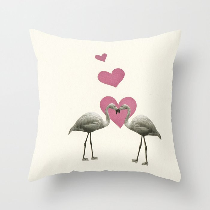 Love Birds Throw Pillow by cassiabeck Society6