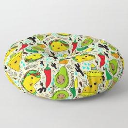 Kawaii Fiesta Floor Pillow
