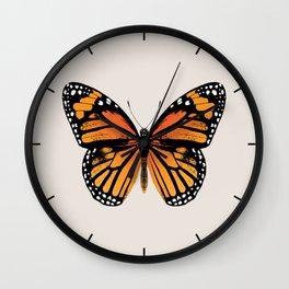 Monarch Butterfly | Vintage Butterfly | Wall Clock