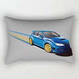 Blue Wonder Rectangular Pillow