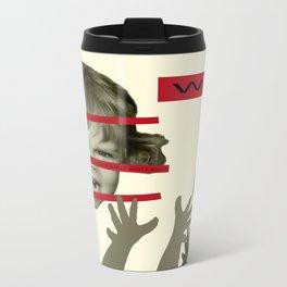 Manit/Want Metal Travel Mug