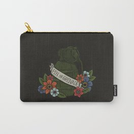 Pin the Grenade (BLACK) Carry-All Pouch