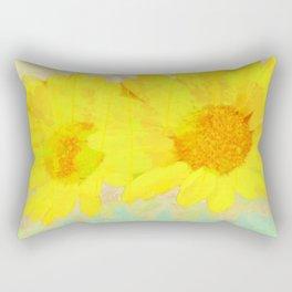 sun flower Rectangular Pillow
