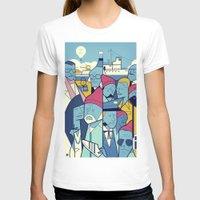 steve zissou T-shirts featuring The Life Acquatic with Steve Zissou by Ale Giorgini