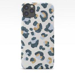 Snow Leopard Print iPhone Case