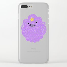 LSP Word Art Clear iPhone Case