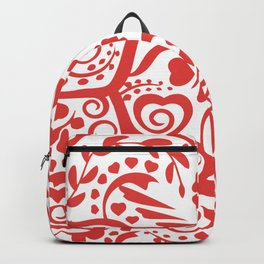 Pattern of a beautiful heart Backpack