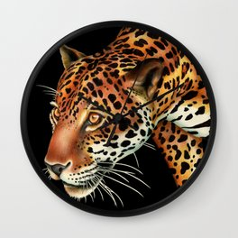 Jaguar 3 Wall Clock