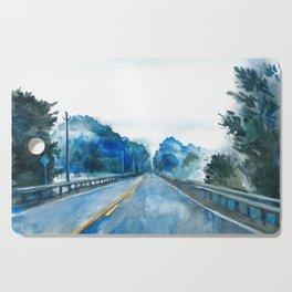 Misty Highway Cutting Board