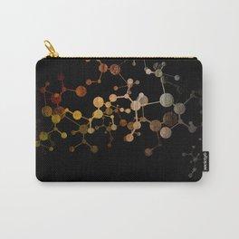 Metallic Molecule Carry-All Pouch