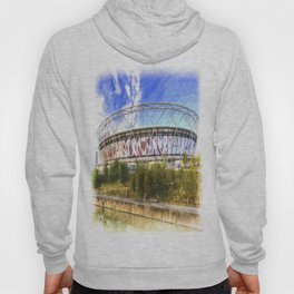 West Ham Olympic Stadium London Art Hoody