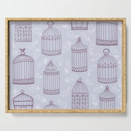 Birdcages Serving Tray