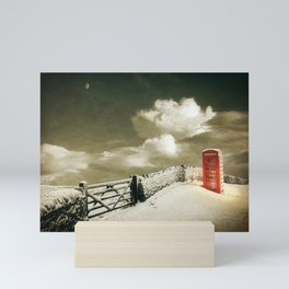 Winter in the Cotswolds, England Mini Art Print