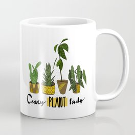 Crazy plant lady Coffee Mug