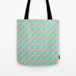 Island Tropical Floral Tote Bag