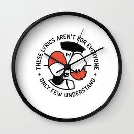 MM Wall Clock